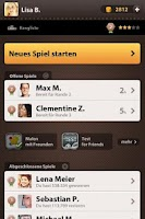 Screenshot of Wordblitz for Friends
