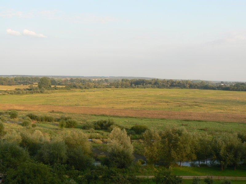 Widok na dolinę Wisły z Solca nad Wisłą