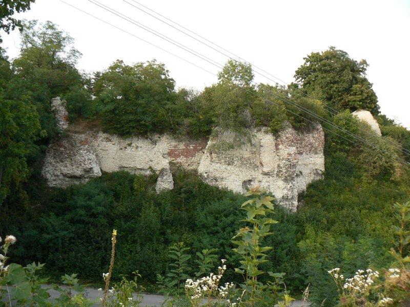 Ruiny zamku w Solcu