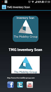 TMG Inventory Scan - screenshot