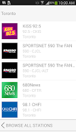 Screenshot of Rogers Radio