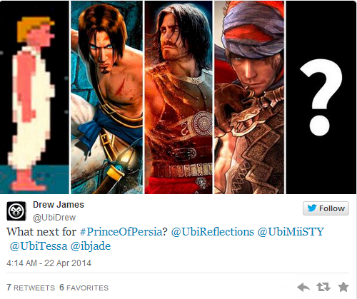 Ubisoft teases more Prince Of Persia