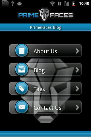 PrimeFaces Blog
