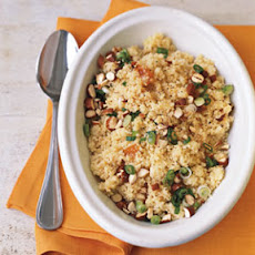Couscous with Apricot Vinaigrette