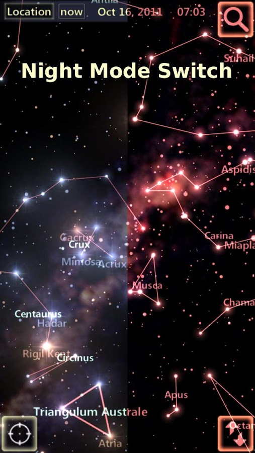 Star Tracker - Mobile Sky Map Screenshot 3