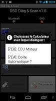 Screenshot of OBD Diag & Scan