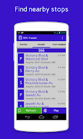 Screenshot of NYC Transit App
