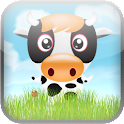 Happy Cow Tipping Game icon