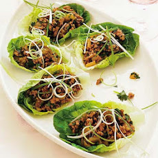 Hoisin Chicken In Crisp Lettuce
