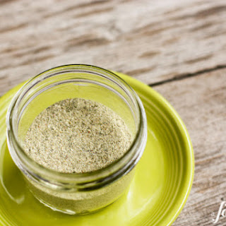 Homemade {Green} Taco Seasoning
