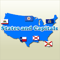 States and Capitals Quiz icon