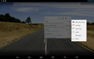 Screenshot of MailDroid Pro