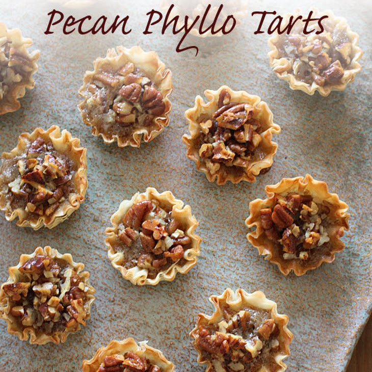 tarts mini pecan phyllo tarts mini phyllo pecan tart 643x600 bake for ...