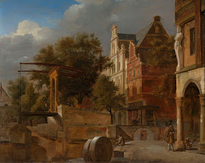 RIJKS: Jan van der Heyden, Adriaen van de Velde: painting 1672