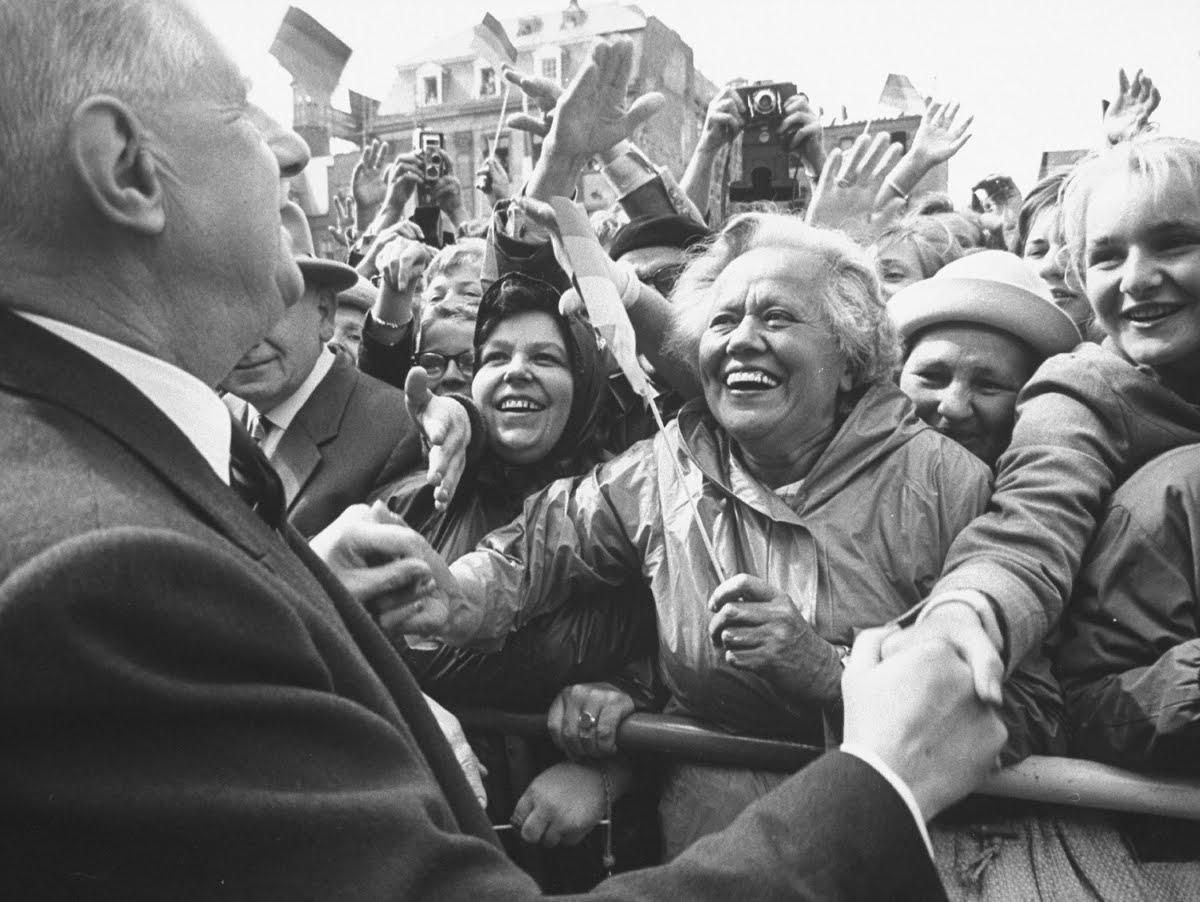 Charles de Gaulle in Deutschland, 1962.