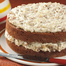 Banana Nut Coconut Cake