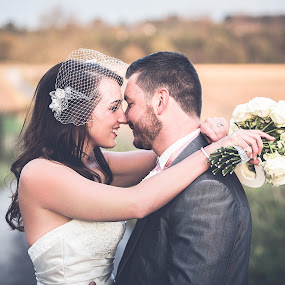 Autumn by Paul Eyre - Wedding Bride & Groom ( married, wedding, couple, bride & groom, just married )