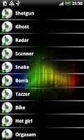 Screenshot of Sound Effects FREE