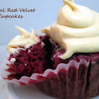 Natural Red Velvet Cupcakes for Valentine's Day