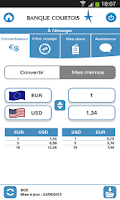 Screenshot of Banque Courtois