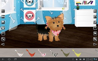 Screenshot of Dress Up! Puppy