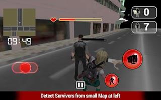Screenshot of Zombies Hand Fight 3D