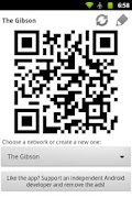 Screenshot of WiFi QR Share