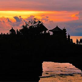 Sunset by Yudi Wahyono - Landscapes Sunsets & Sunrises ( sunset. )