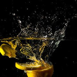 My Slices of Lemon by Syahrul Nizam Abdullah - Food & Drink Fruits & Vegetables