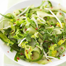 Thai Cucumber Salad With Sour Chilli Dressing