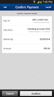 Screenshot of NSBank Mobile Banking