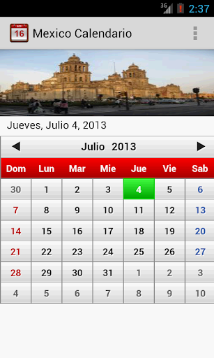 mexico-calendario-2014 for android screenshot
