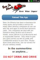 Screenshot of Beer On Wheels