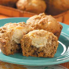 Carrot Cheesecake Muffins