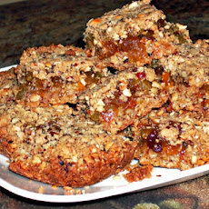 Chef Joey's Oatmeal, Fruit & Nut Bars