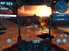 Screenshot of MetalWars3