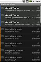 Screenshot of EML Viewer Beta