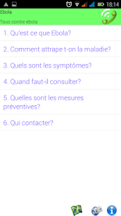 Ebola Info Mali - screenshot
