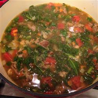 Lisa's Co-op Kale Soup