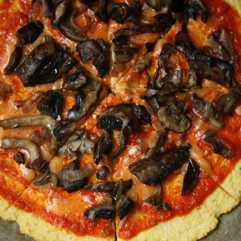 Wild Mushroom Pizza with Cauliflower Crust