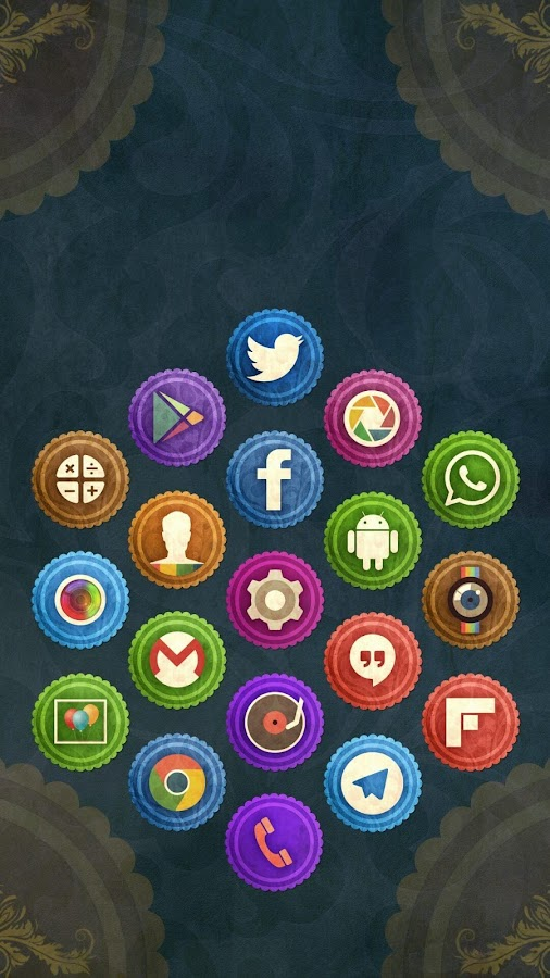 Rusty Icon Pack TSF Nova Apex Screenshot 8