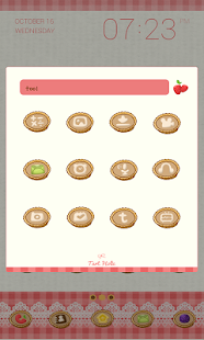 Tart holic Dodol Theme - screenshot