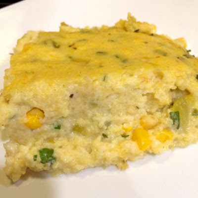 Polenta with Corn and Green Chilies