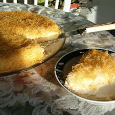 Kunafa the Traditionally Desert