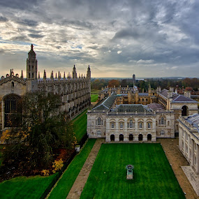 Cambridge Kings College by Friedhelm Peters - Buildings & Architecture Other Exteriors