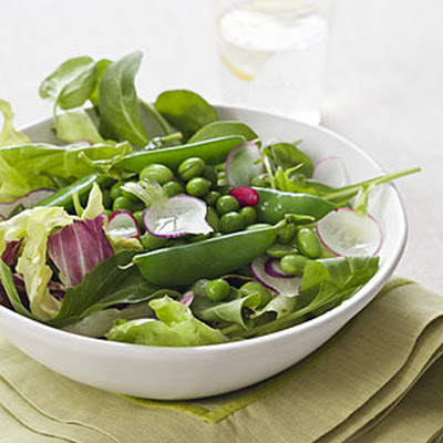 Triple Pea Salad With Creamy Tarragon Dressing