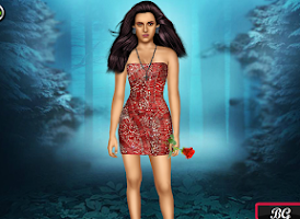 Screenshot of Dressup game for girls - Bella