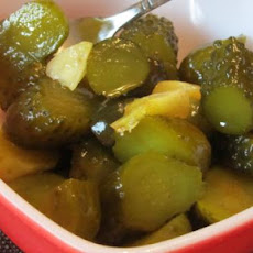 Spicy Christmas Pickles (No Cook)