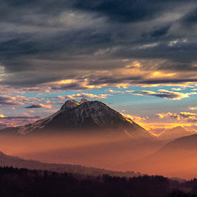 Heaven & Hell by Stéphane zOz - Landscapes Mountains & Hills ( mountain, paysage, heaven, montagne, zoz, hell, savoie, france, landscape )