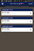 Screenshot of First Freedom Mobile Banking